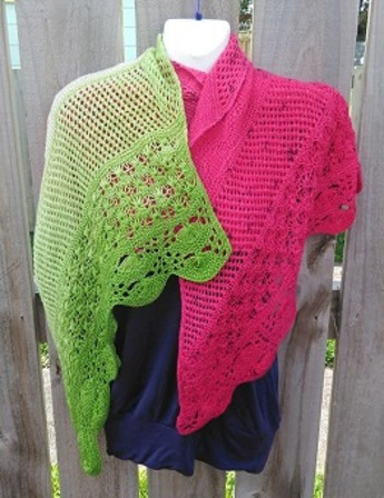 A Day at the Beach Wrap PDF Knitting Pattern