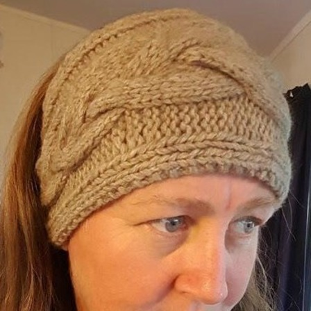 Bernadettes head band PDF Knitting Pattern